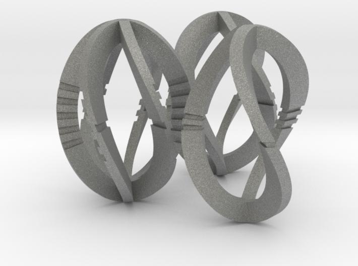 Modern Art Dice Set (Common Denominations) 3d printed