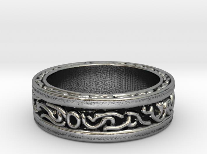 DarkMoon Ring Dark Souls 3d printed