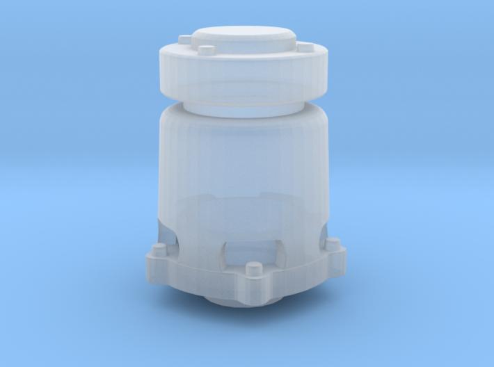 "1/20 ""pop-off"" valve regular version for the 1993 3d printed"