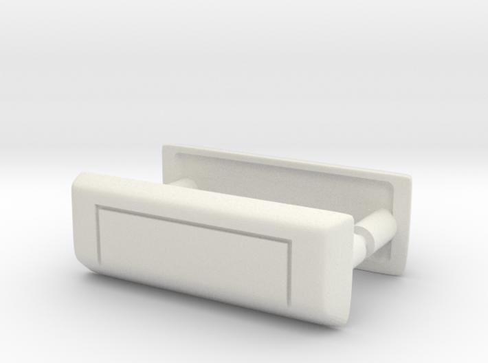 RCN012 Door handles for Pro-Line Toyota SR5  3d printed