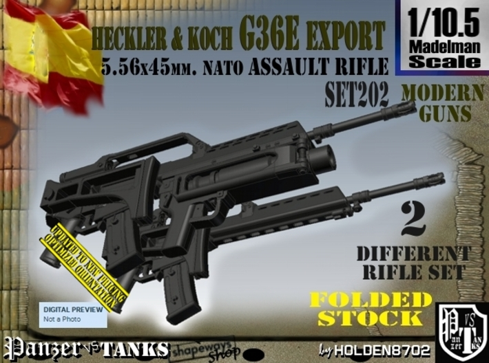 1105 Heckler Koch Rifle G36e Export Set202 Avuuy6a2x By Holden8702t4