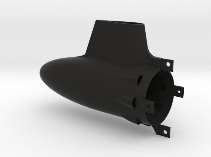 Long 50mm Tailcone for HET 800 motors 3d printed
