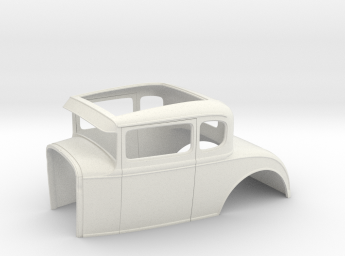 "1/16 '30 Ford coupe, 2.5"" chop 3d printed"