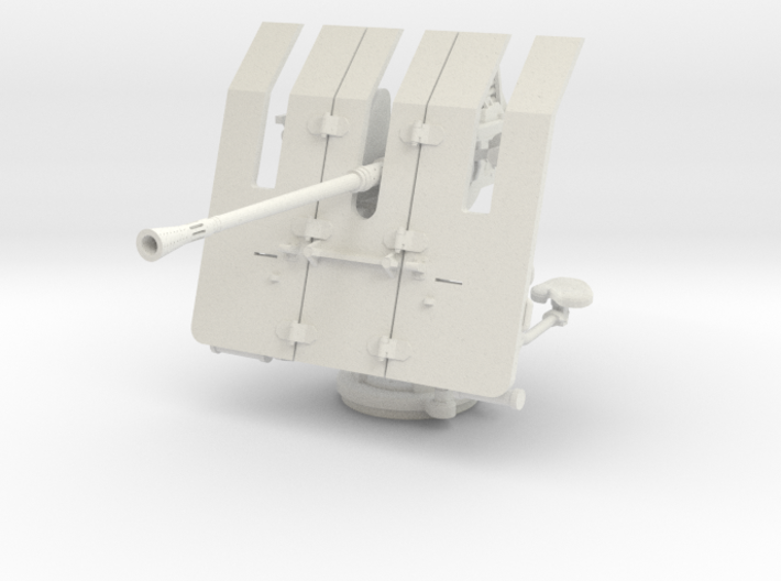 1/20 DKM 3.7cm Flak M42 Single Mount 3d printed
