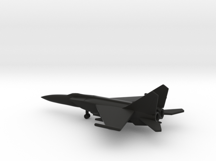 MiG-25PDS (with droptanks) 3d printed