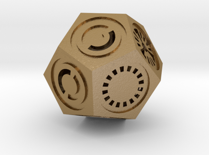 Plato's Dodecahedron - Universo 3d printed