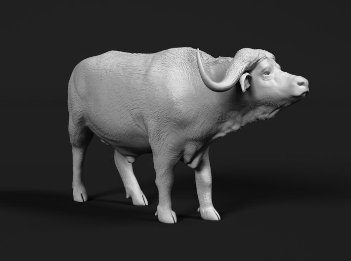 Cape Buffalo 1:9 Standing Male 2 3d printed
