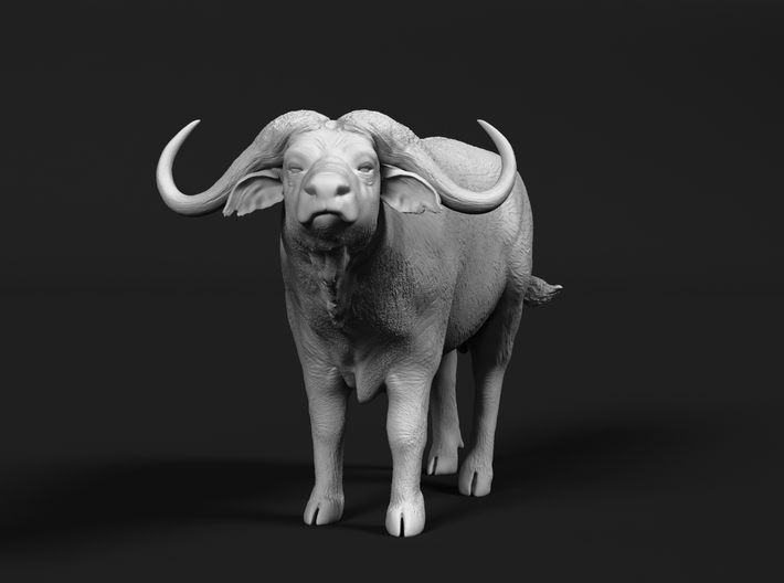 Cape Buffalo 1:22 Standing Male 2 3d printed