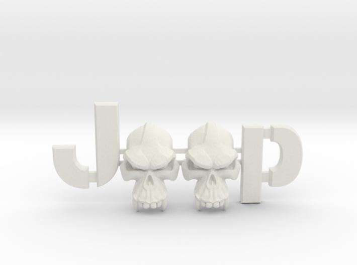 #CuzitsCustom Evil Monkey Skulls (LG-Willys) 3d printed