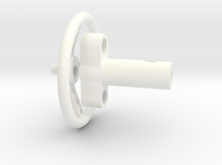 F150 Interior 058023-02 Tamiya F150 Wheel & Column 3d printed