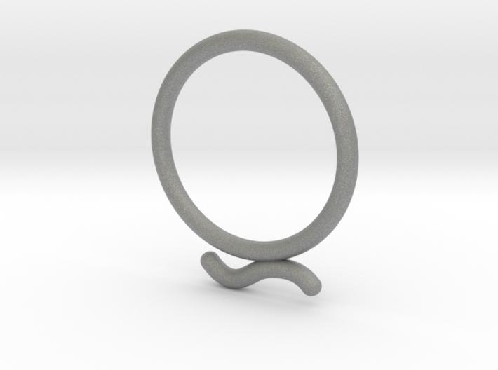 Umlaut Ring 2 - õ 3d printed