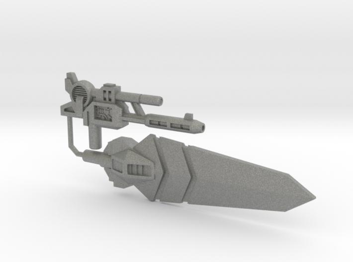 Grand Sword and Gun Two-Pack, 5mm 3d printed