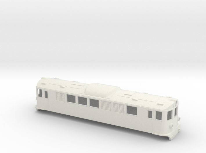 Swedish SJ electric locomotive type F - H0-scale 3d printed