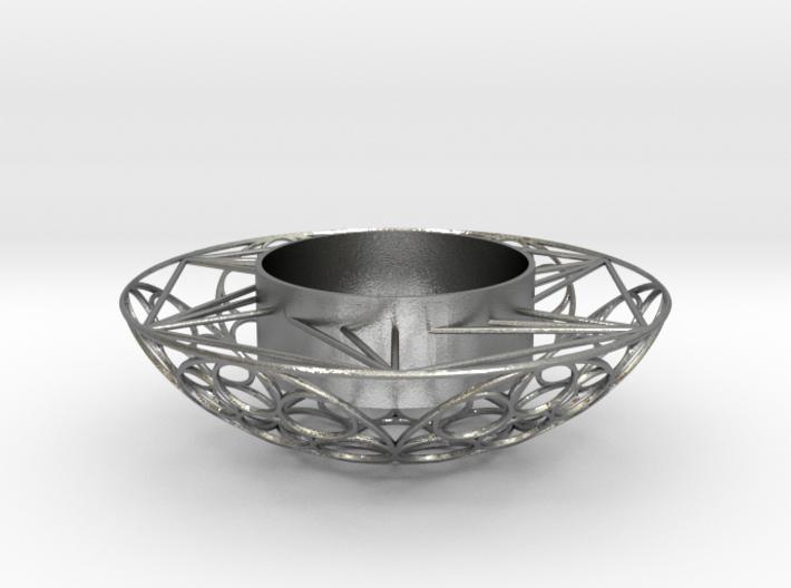 Round Tealight Holder 3d printed