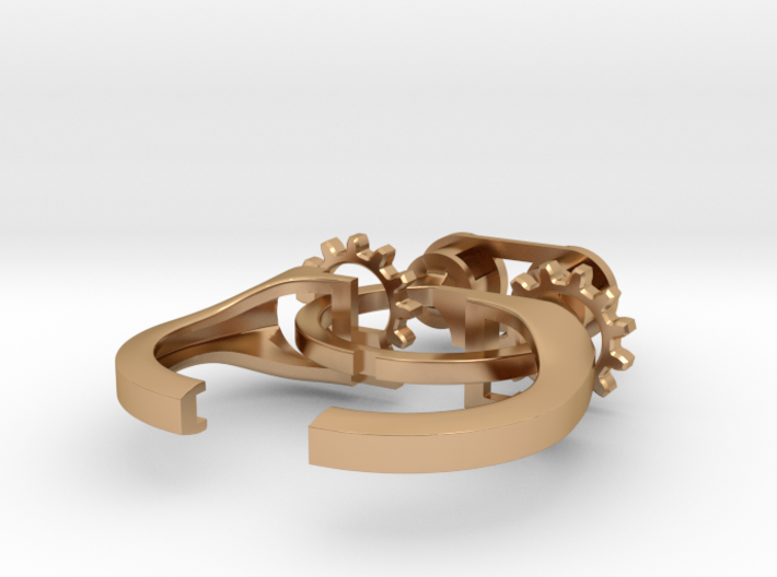 Gear Spinning Ring 3d printed