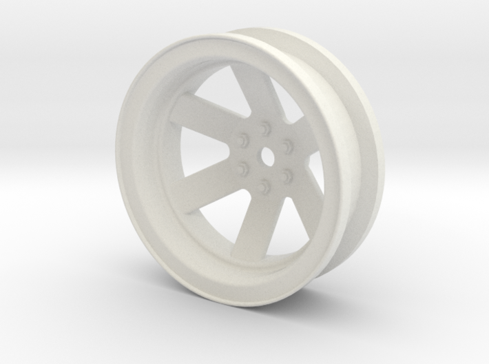 MG Crawlers Micro Tractor Tire Rim 3d printed