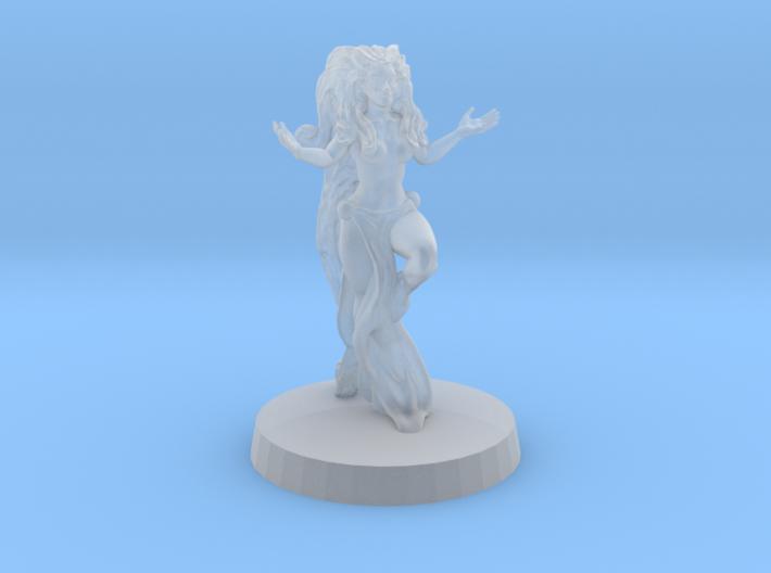 sorceress 3d printed Fine detail , render