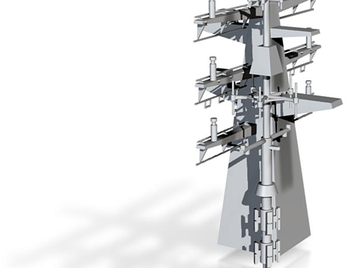 1/96 scale Bergamini - Rear Mast 3d printed