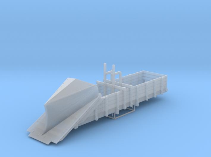 DRGW Gunnison Plow HOn3 3d printed