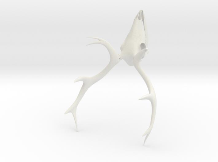 Deer Skull 3D Printed Model 3d printed