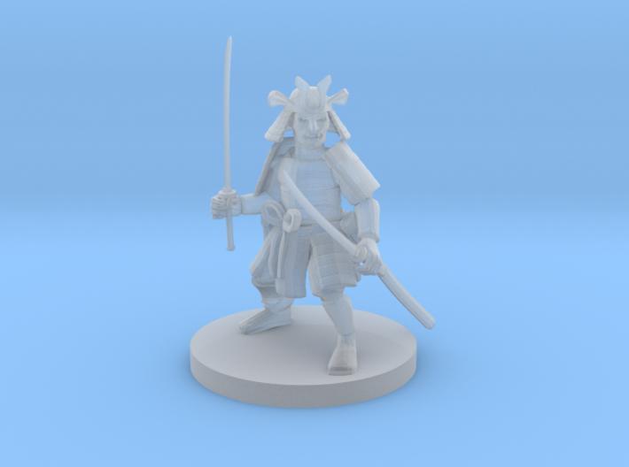 Dwarf Samurai 3d printed