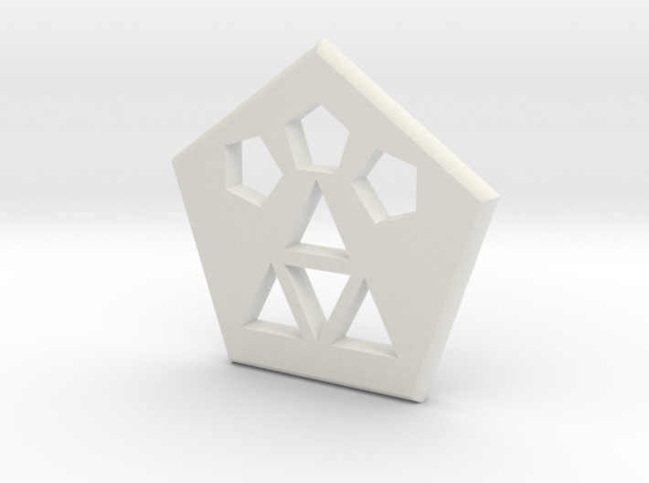 Logo Medallion 3d printed