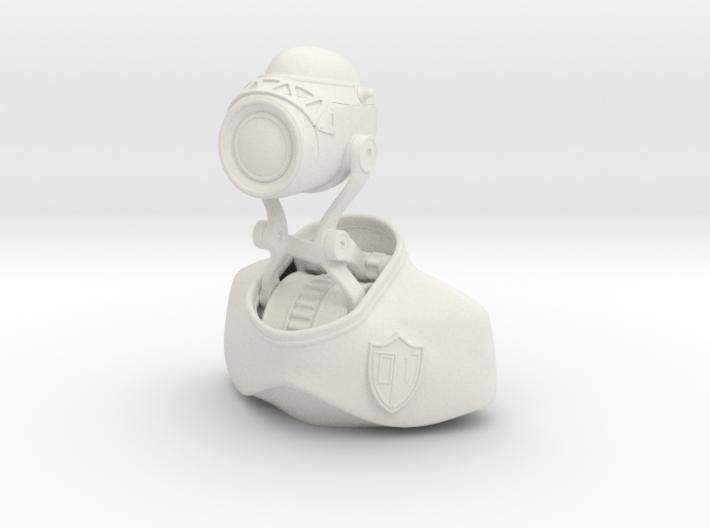 Robot Binary Detective 01 3d printed