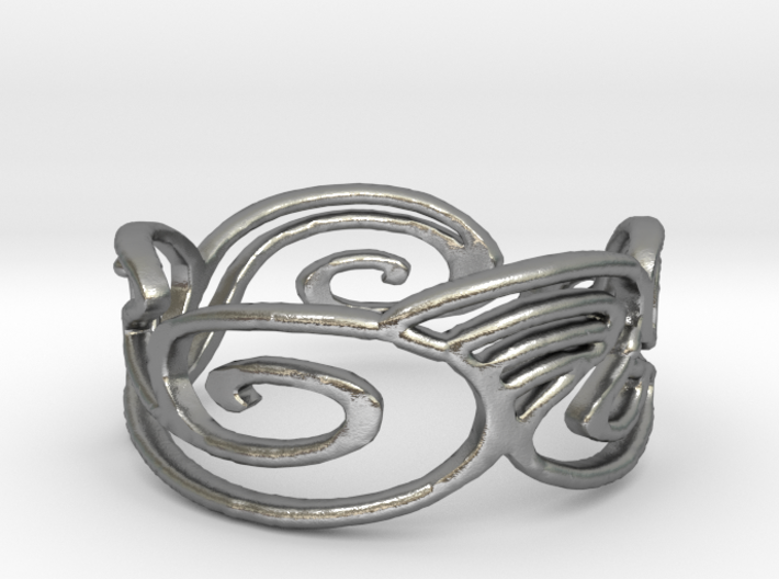 My Awesome Ring Design Ring Size 6.25 3d printed