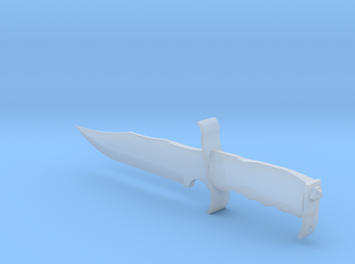 1/4th Scale Linder 15 Inch Knife 3d printed