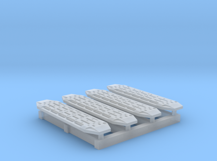 1/ 87 Scale 4x4 Traction Matts 2 Sets 3d printed