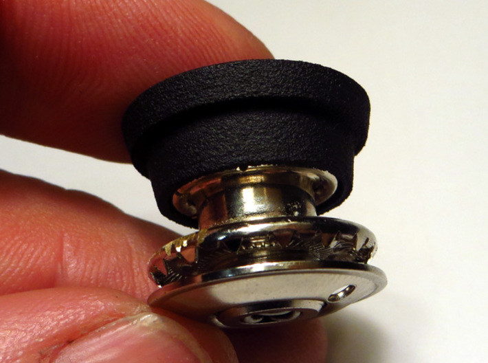 TARGA ROOF TENAX FASTENER BUTTON COVER 3d printed Plastic button over the metal fastener -not included-