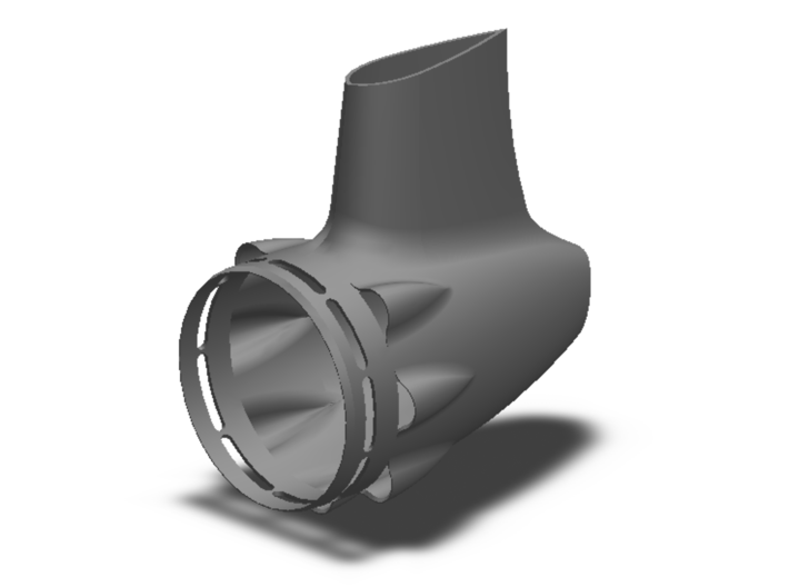 55mm Tailcone 3d printed