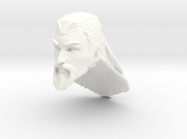 head elf long hair 3 3d printed