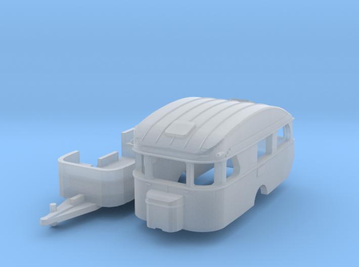 Constructam Comet 5 (TT 1:120) 3d printed