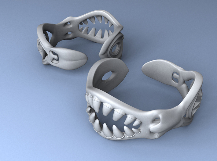 Bracelet of Lust 3d printed Earthly Pleasures