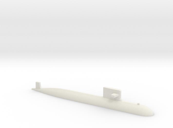 PLA[N] 093A Submarine, 1/1250 3d printed