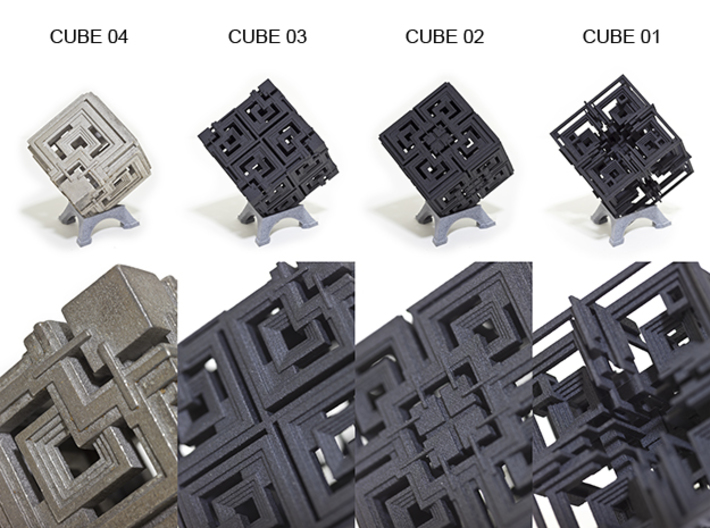 Cube 01 3d printed Other Cube Variations