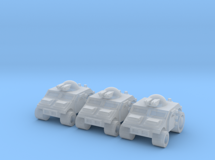 High Mobility Vehicle 3d printed