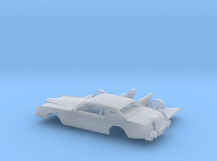 1/87 1974-76 Lincoln Mark IV Kit 3d printed