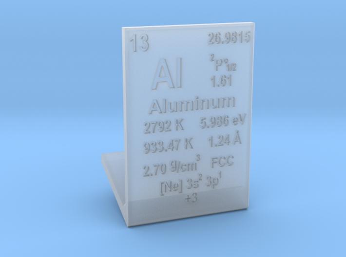 Aluminum Element Stand 3d printed