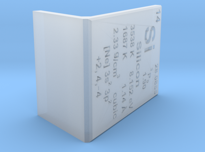 Silicon Element Stand 3d printed