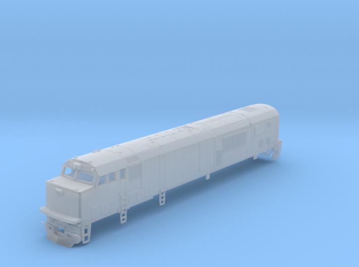 N Scale Amtrak GE P30CH Diesel Loco Body Shell 3d printed