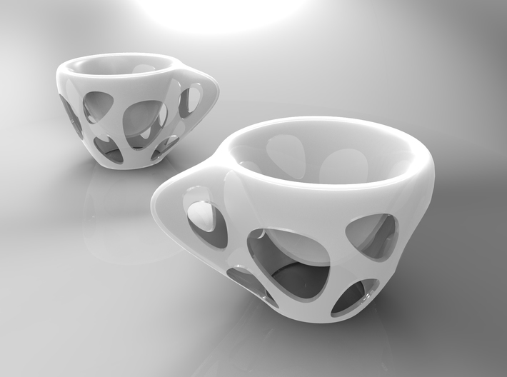 SUSPENDED COFFEE plastic 3d printed