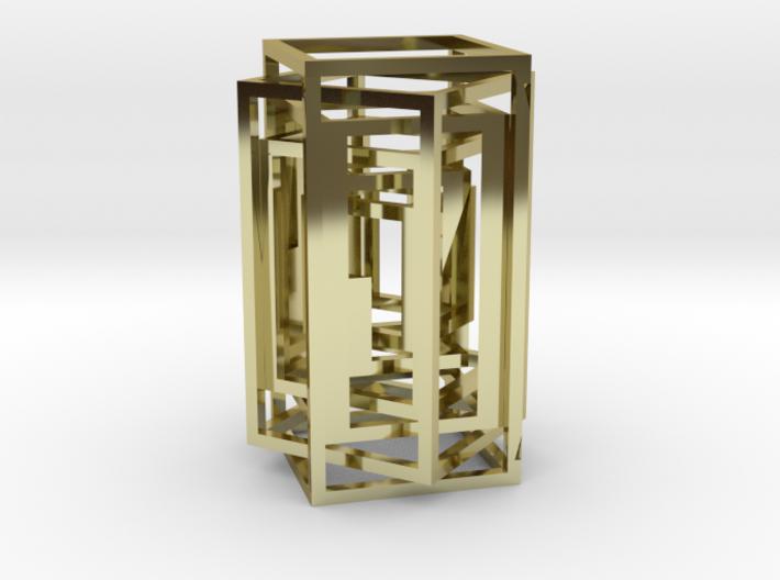 Square lamp 3d printed