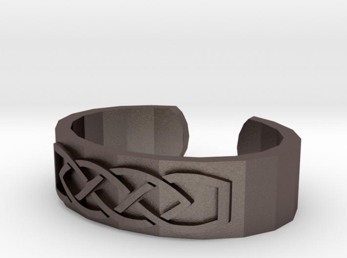 Knotwork Ear Cuff 3d printed