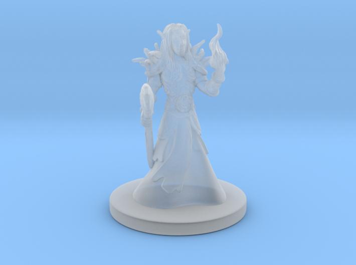 Wood Elf Warlock 3d printed