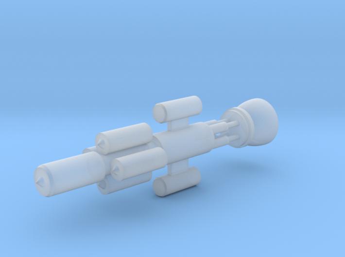 Baltimore class Battlecruiser with fusion pulse en 3d printed