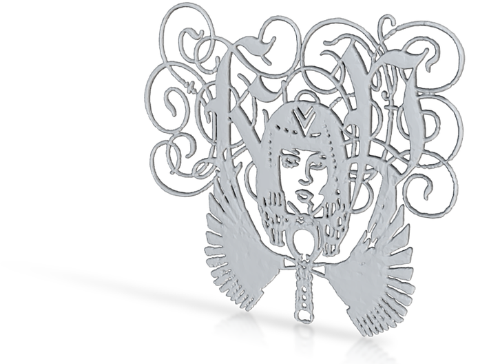 Katy Perry Fan Pendant - Dark Horse 3d printed