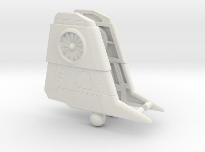 Thrust wings for POTP Darkwing 3d printed