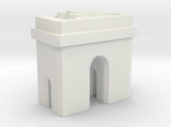 Arc de Triomphe - Paris (1:4000) 3d printed